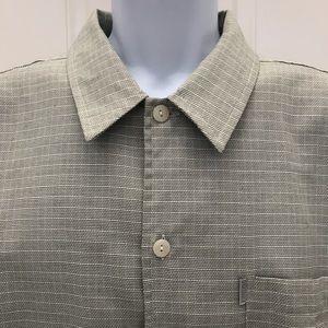 QUIKSILVER Pocket Button Short Sleeve Shirt XL